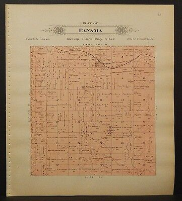 Nebraska, Lancaster County Map, 1903, Township of Panama, L1#47
