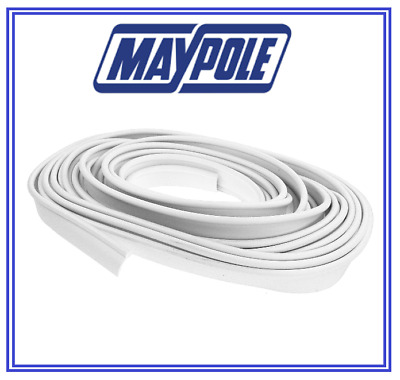 Awning Rail Protector For Caravan Motorhome Protection white Strip MP951 12Metre