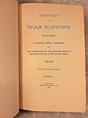 Sketches of War History 3 Vols 1861-65 Papers Read Before by Ohio Command 1888