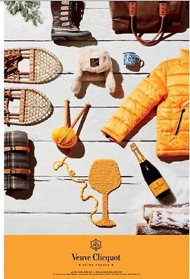 Veuve Clicquot Seasonal Poster 24 By 36 New