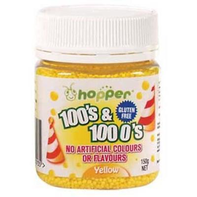 Hopper 100s and 1000s Yellow 150g