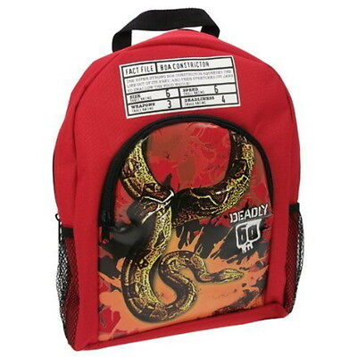 NEW OFFICIAL Deadly 60 Boa Constrictor Boys Sports Backpack Rucksack School Bag