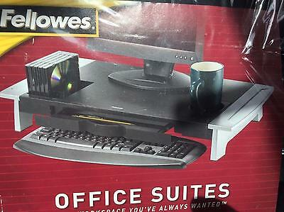 Adjustable Fellowes Office Suites Slide Underdesk Keyboard Mouse Tray Drawer
