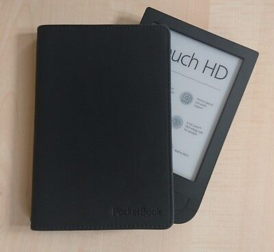 , PocketBook E-Book Reader Cover Touch HD Black ,  7640152094323