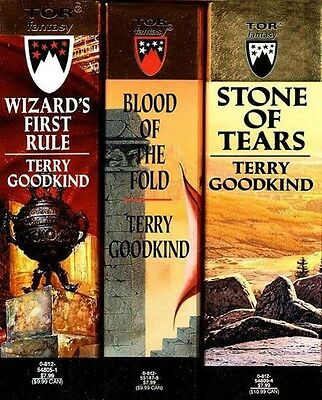 Terry Goodkind , The Sword of Truth, Boxed Set I, Books 1-3 ,  9780812575606