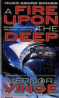 Vernor Vinge , A Fire Upon the Deep ,  9780812515282