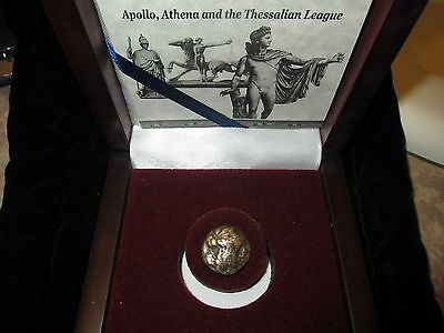 THE LAST COINS OF ANCIENT GREECE - Thessalian Confederacy Ca. 196 -146 BC w/ COA