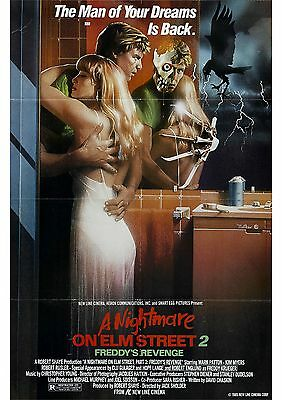 A Nightmare On Elm Street 2 Freddy's Revenge - A4 Laminated Mini Poster