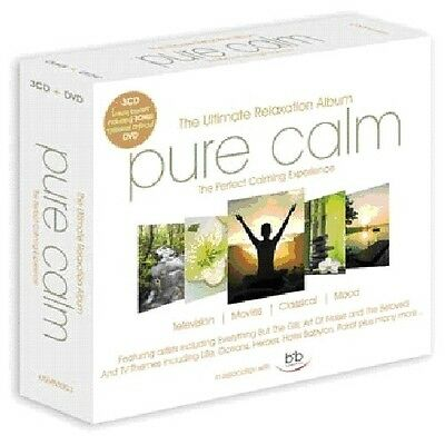 Pure Calm-Ultimate Relaxation Album - 4 DISC SET - Pure Calm-Ulti (2010, CD NEW)
