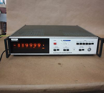 Schlumberger Solartron A210 A 210 DIGITAL VOLTMETER TUBE nixie display 1975