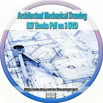 527 Architectural Mechanical Drawing Structural Drafting Drawing Books Pdf 3 DVD