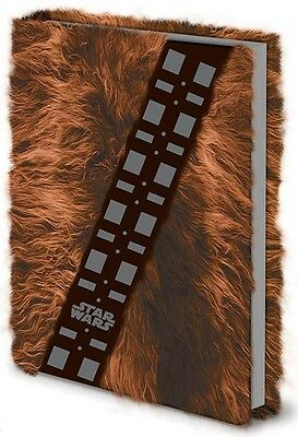 Star Wars Classic - Chewbacca Fur Notebook NEW furry note book diary writing pad