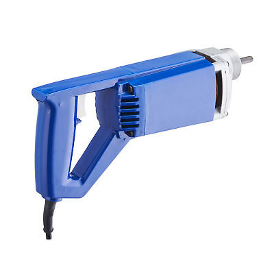 Electric Hand Held Concrete Vibrator 3/4 HP 13000 VPM Lightweight Lock On Button