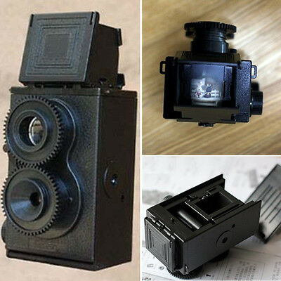 DIY Classic Play Hobby Twin Lens Reflex TLR 35mm Lomo Assembly Camera Kit