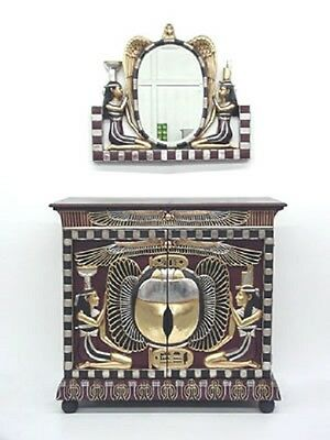 Egyptian Cabinet Mirror ONLY