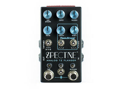 Chase Bliss Spectre Through Zero Flanger EFFECTS - NEW - PERFECT CIRCUIT