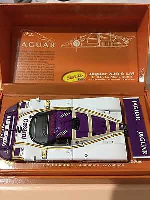 Slot It Cw03 Jaguar Xjr9 The Le Mans Winners Collection 1988 Slot Car 1:32