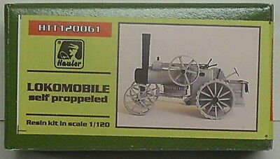 Lokomobil self-propelled Steam engine, Hauler, 1/120, TT, Resin , NEW