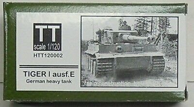Tiger I Ausf.E, Hauler, 1/120, TT, Resin , Etched parts NEW