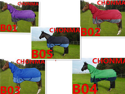 CHONMA  600D 250G Winter Waterproof Breathable Turnout Horse Rug --A25