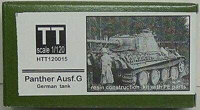 Panther Version G, Hauler, 1/120, TT, Resin, Etched Parts NEW