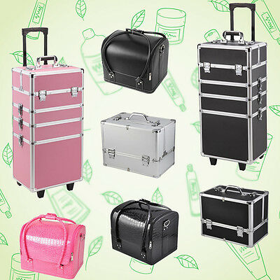 Professional Portable Makeup Case Beauty Case Cosmetics Box Carry Bag Organiser