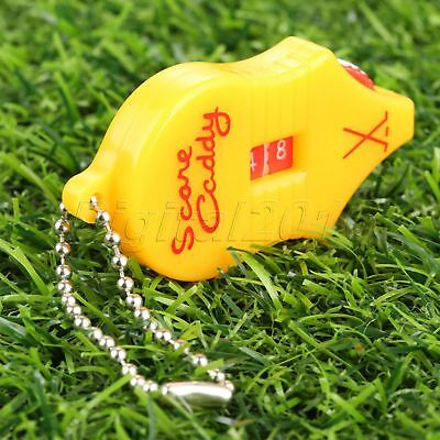 Golf Score Stroke Shot Putt Keeper Scoring Counter Tool with Key Chain WHOLESALE