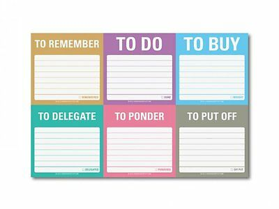 Witty Sticky Notes - To Remember, To Do and so on by Knock Knock