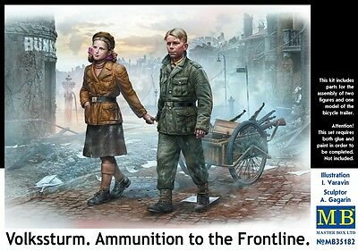 "1/35 MASTER BOX  ""Volkssturm. Ammunition to the Frontline""  MB35182"