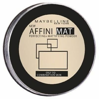 Maybelline Affinimat Mattifying Face Powder Pure Beige 40
