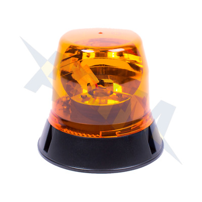 Ecco/Vision Alert 403.000 400 Series Three Bolt Amber Rotating Beacon 12/24v