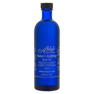 Uplifting Luxury Bath Oil 200ml Aromatherapy Pure Essential Oils for Depression