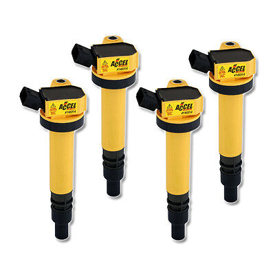 ACCEL Ignition SuperCoil for Toyota Funcargo 1.5i 4WD (99-05), 4 Pack