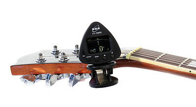 Eno Clip On Chromatic Acoustic Electric Bass Guitar Tuner Violin Ukulele Banjo