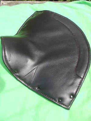 small LYCETTE SOLO SEAT upper cover BSA BANTAM D1 D3 etc seatcover faux leather