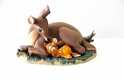 NIB WDCC Bambi And Mother My Little Bambi Figurine Sculpture W/Charm #1204799