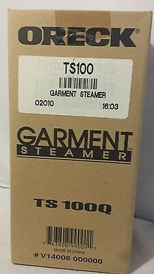 Oreck TS100 Lightweight and Portable Garment Travel Steamer New in Box