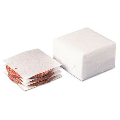 Dixie Dry Wax Laminated Patty Paper with Holes - WR58
