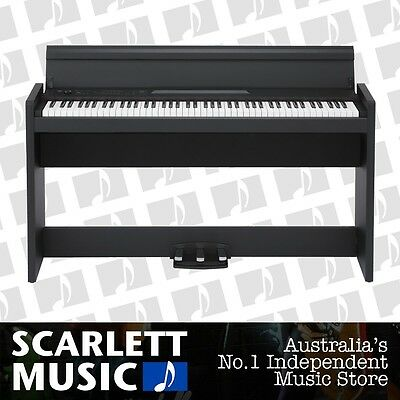 Korg LP-380BK 88 Weighted Key Digital Piano w' Stand *BRAND NEW*