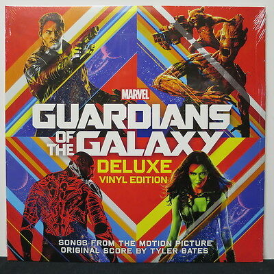 'GUARDIANS OF THE GALAXY' Soundtrack Gatefold Vinyl 2LP NEW & SEALED