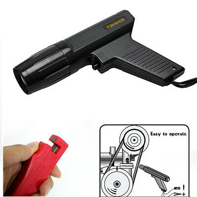 BLACK Motorcycle Ignition Test Engine Timing Gun Light Diagnostic Repair Tool