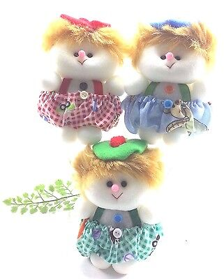 Cute Baby Deodorant Doll/Not Bad Smell Wherever The Place/Fresh Air/3 Pcs.