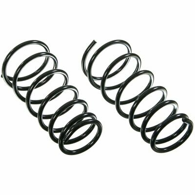 Moog Set Of 2 Coil Springs Front New Jeep Wrangler 2000 2006 Pair