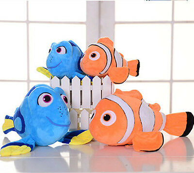 Finding Nemo Dory Figure Stuffed Plush Soft Doll Children Animal Toy Teddy Gift
