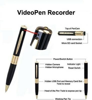 Mini DV Spy Video Pen Camera Hidden Voice Recorder Micro DVR Record 1280X960