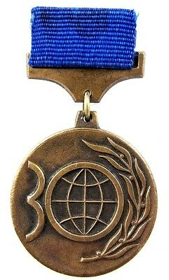 Vintage World Peace Council Jubilee 30 years Medal Badge 1950-1980