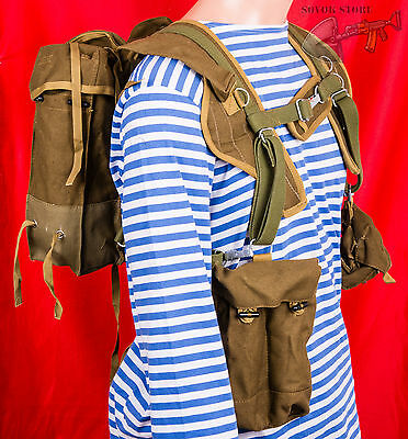 Russian Soviet Red Army USSR landing troops paratrooper Military backpack RD 54