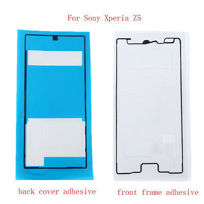 New Original Front+Back Adhesive Glue Tape Sticker For Sony Xperia Z5