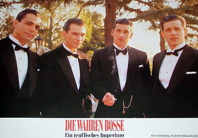 Christian Slater MOBSTERS lobby cards 18 original vintage stills 1991