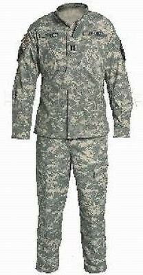 U.S. Army ACU All Terrain AT Digital UCP Combat Camouflage Pants Jacket S Small